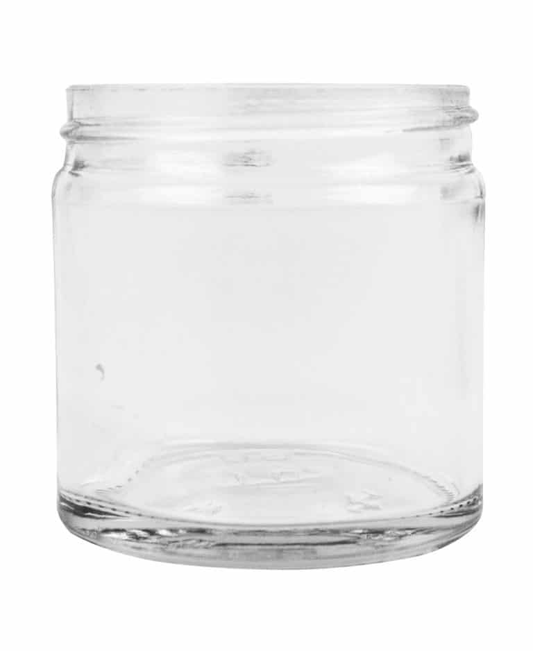 Jar 060ml 51/R3 glass white flint