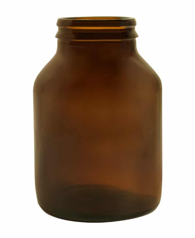 Pilulier jaycap 125ml 38GCA verre jaune