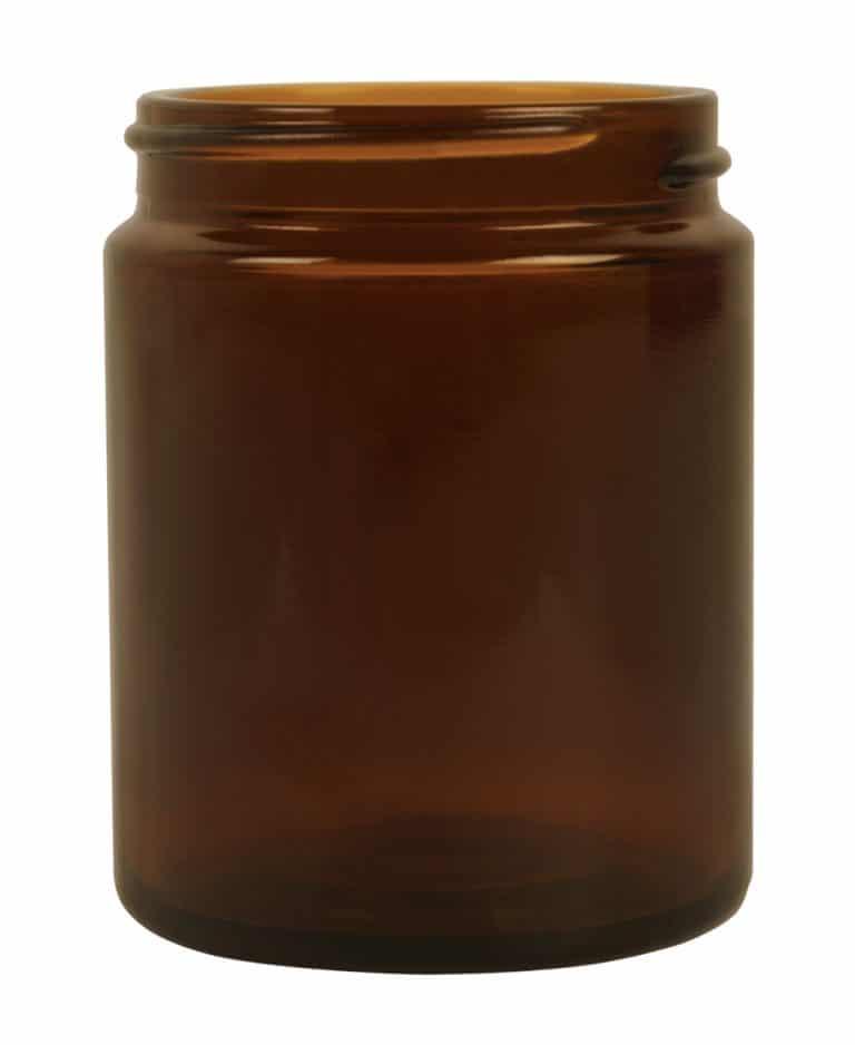Jar 100ml 53/R3 glass amber