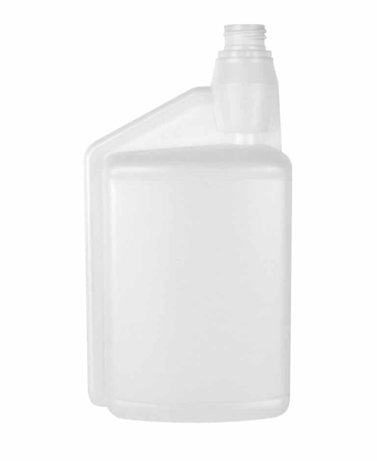 Dosing bottle 1000/20ml 1N 28TE HDPE natural