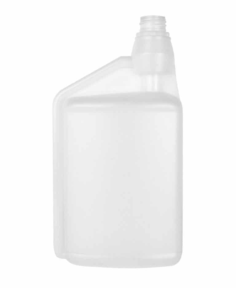 Dosing bottle 1000/8ml 1N 28TE HDPE natural