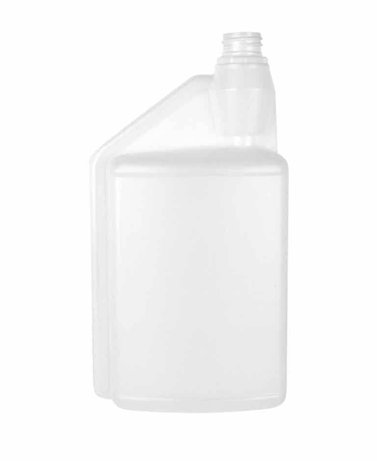 Dosing bottle 1000/25ml 1N 28TE HDPE natural