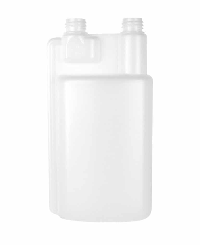 Dosing bottle 500/25ml 1N DIN28 HDPE natural