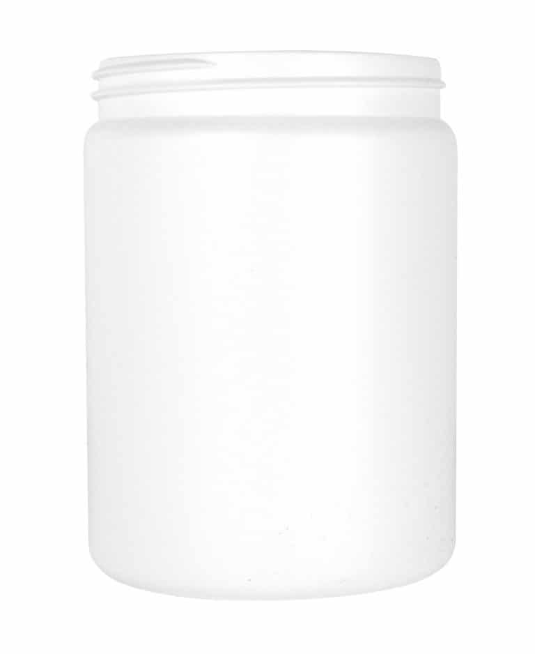 Cylindrical jar 750ml 89CT HDPE