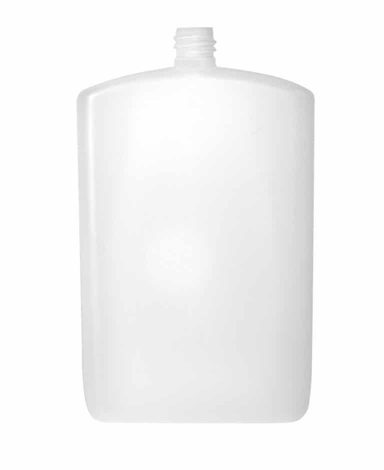 Postal bottle 250ml 18/415 PEHD blanc