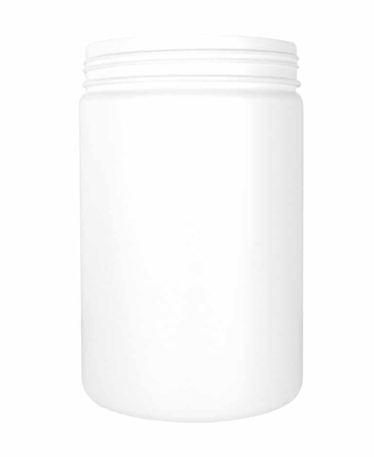 Cylindrical jar 3000ml 135CT HDPE