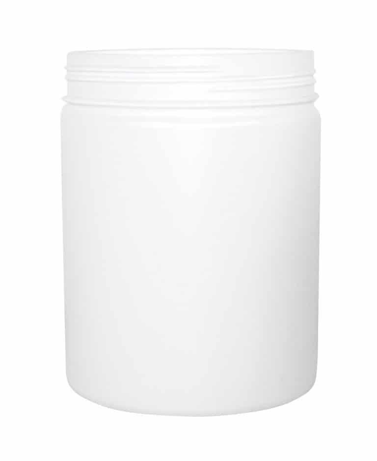 Cylindrical jar 2500ml 135CT HDPE