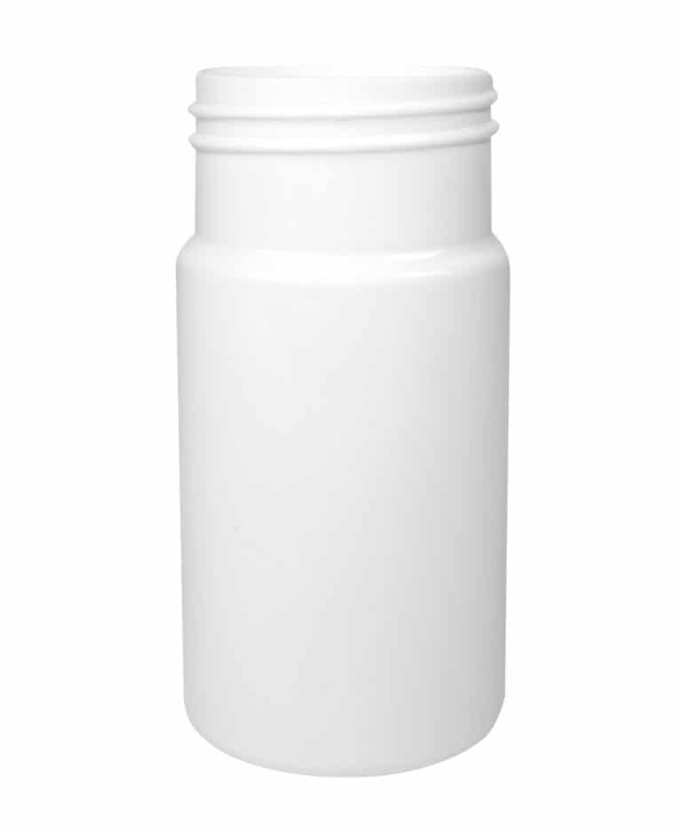 Cylindrical pill container 100ml 45CT PET