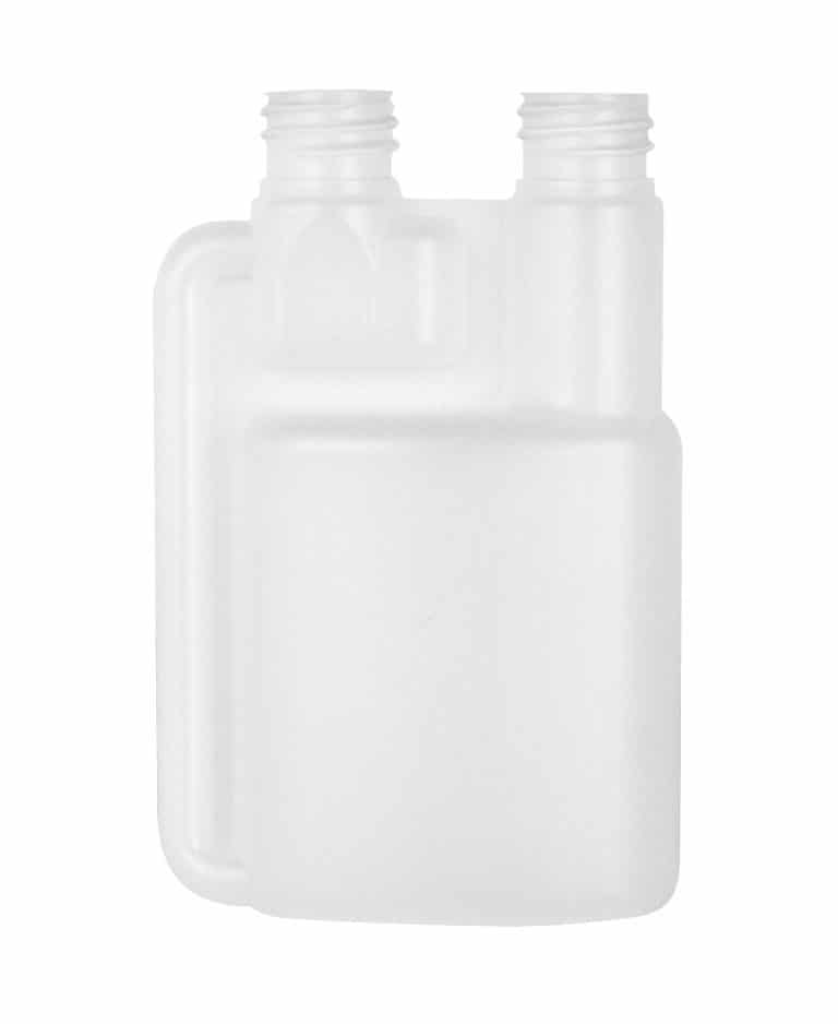 Dosing bottle 100/5ml 2N 20R3 HDPE natural