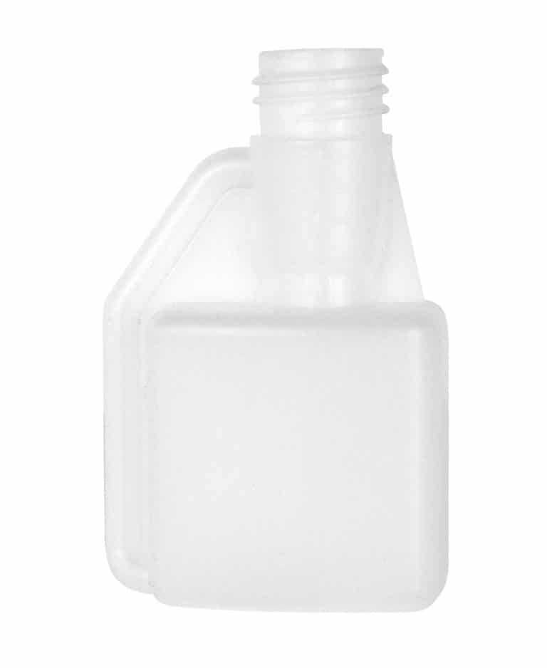 Dosing bottle 100/6ml 1N 28DIN HDPE natural