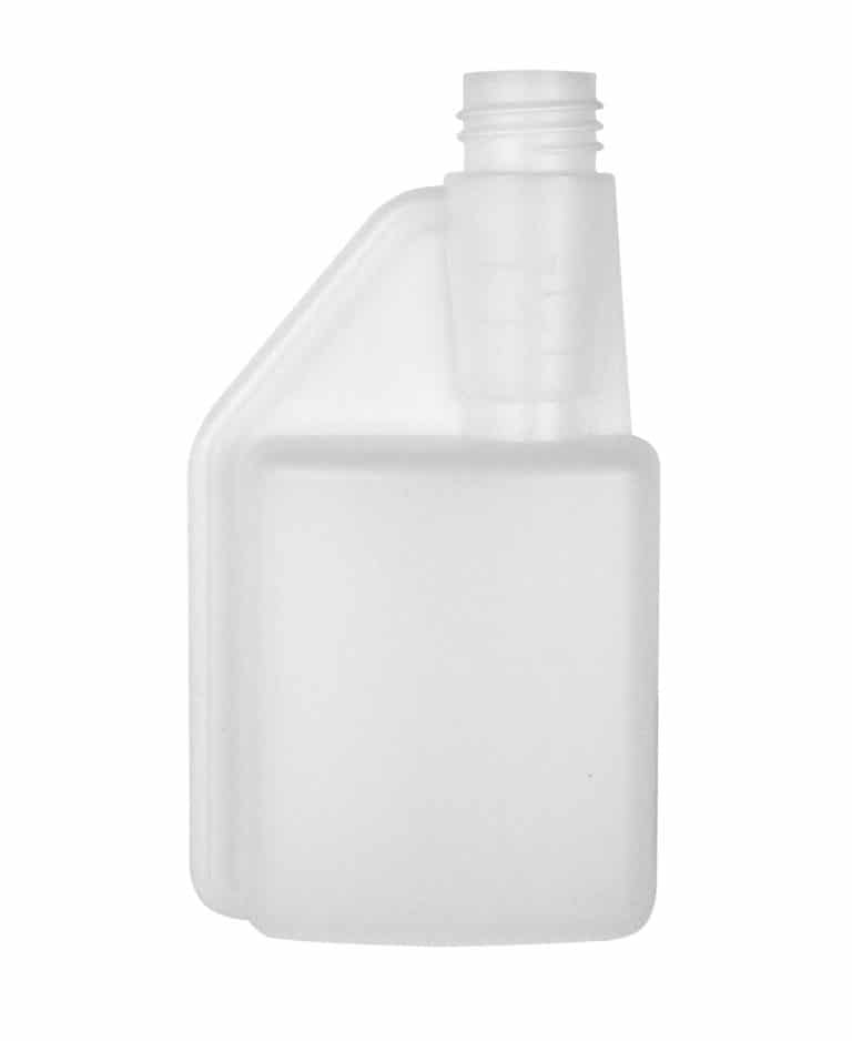 Dosing bottle 250/12ml 1N 28DIN HDPE natural
