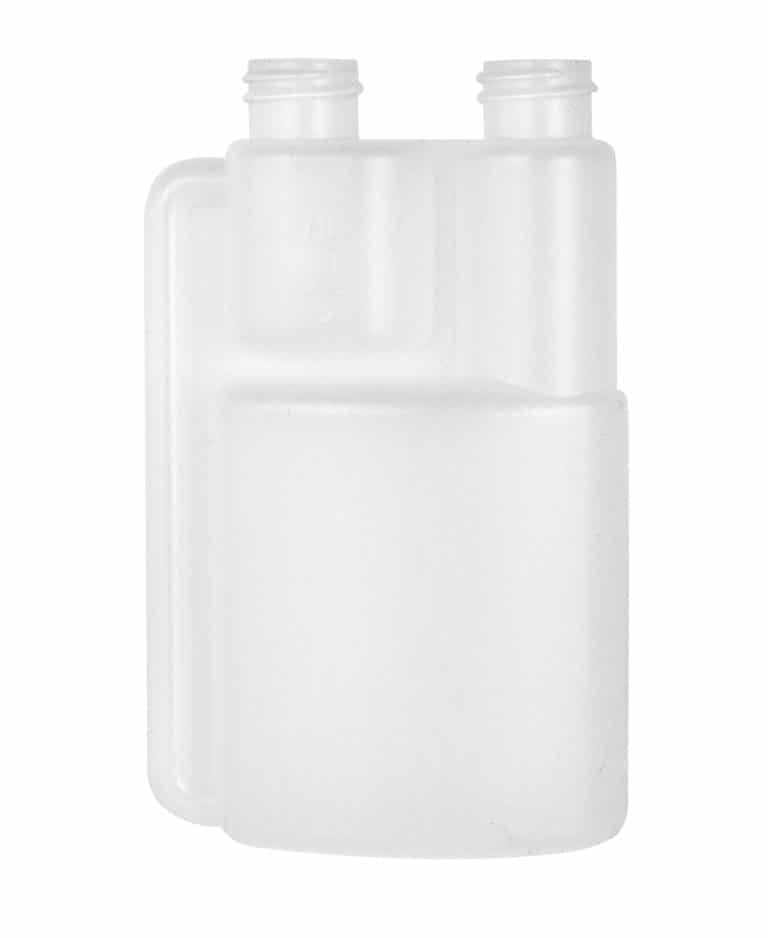 Dosing bottle 125/12,5ml 2N 20/400 HDPE natural