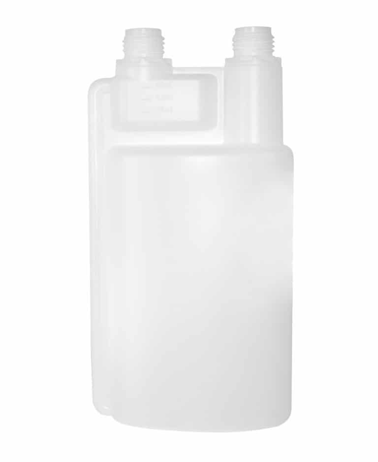 Dosing bottle 1000/50/60ml 2N DIN28 TE-Spec. HDPE natural