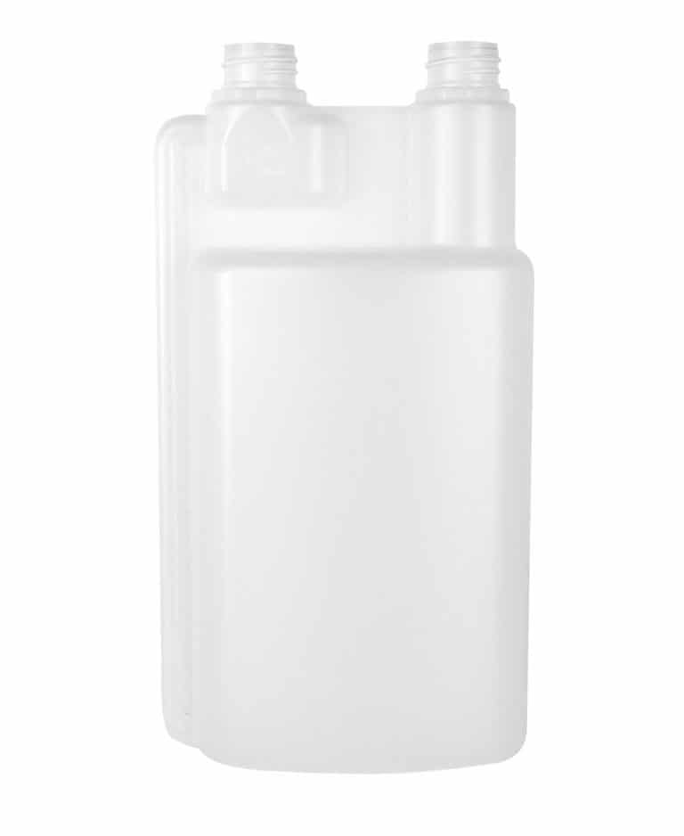 Dosing bottle 1000/25ml 2N 28TE HDPE natural