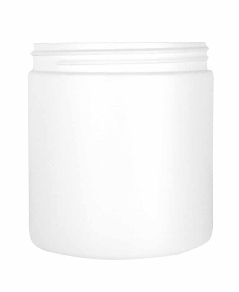 Cylindrical jar 750ml 100CT HDPE