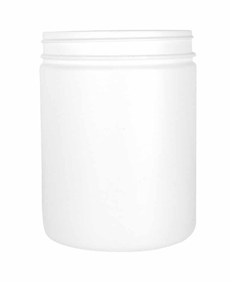 Cylindrical jar 1500ml 120CT HDPE