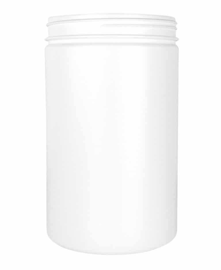Cylindrical jar 2000ml 120CT HDPE