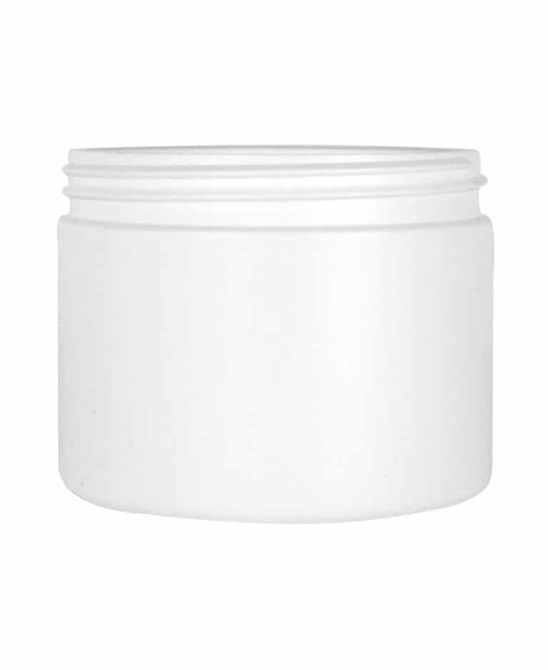 Cylindrical jar 500ml 100CT HDPE
