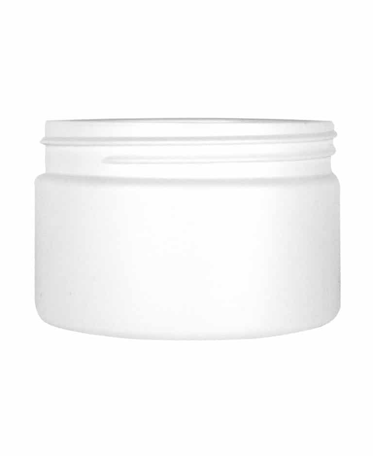 Cylindrical jar 250ml 89CT HDPE
