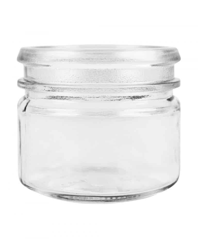 Verrine jar 070ml 52 Eurocap glass white flint
