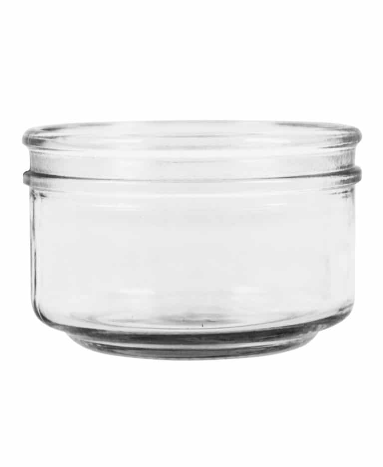 Verrine jar 185ml 82 Eurocap glass white flint