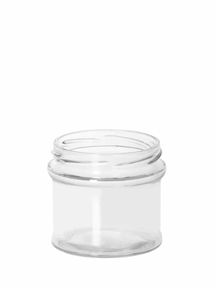 Pot profil 245ml 77TO verre blanc