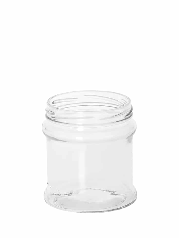Profile jar 320ml 77TO glass white flint