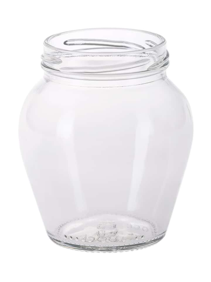 Ampha jar 330ml 63TO glass white flint