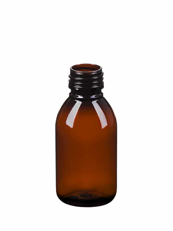 Alpha sirop 125ml 28ROPP PET amber