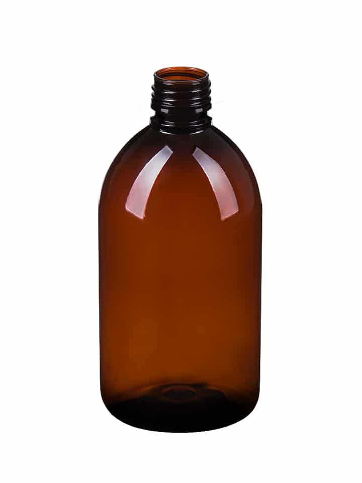 Alpha sirop 500ml 28ROPP PET amber