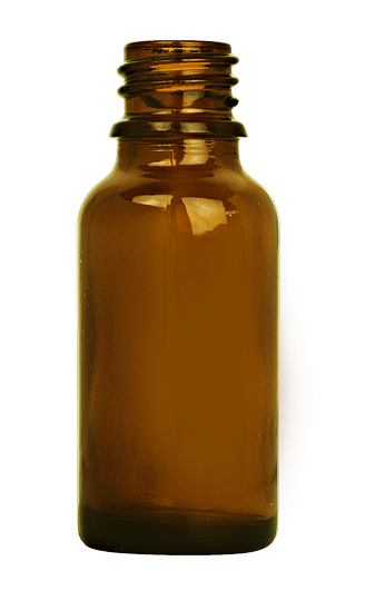 Dropper bottle 020ml GL18 glass amber