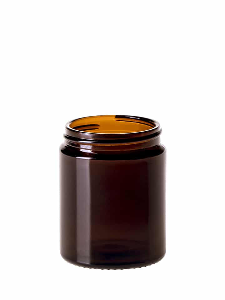 Jar 100ml 53/R3 glass amber