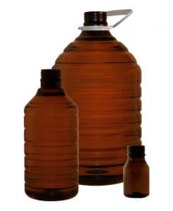 Agro-chemical bottle