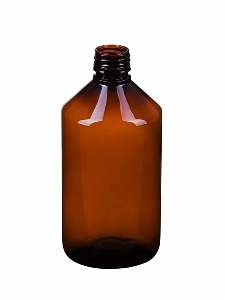 Veral 500ml 28ROPP PET amber