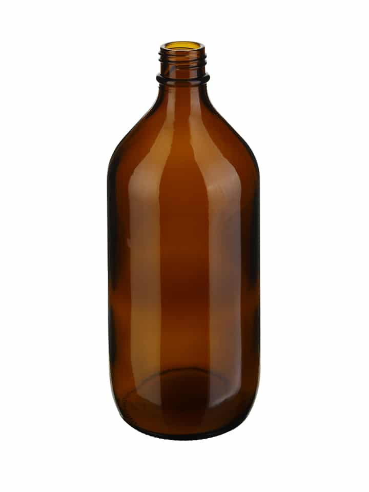 Winchester 1000ml 31/R6 glass amber