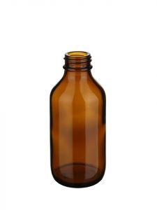Winchester 100ml 24/R3 glass amber