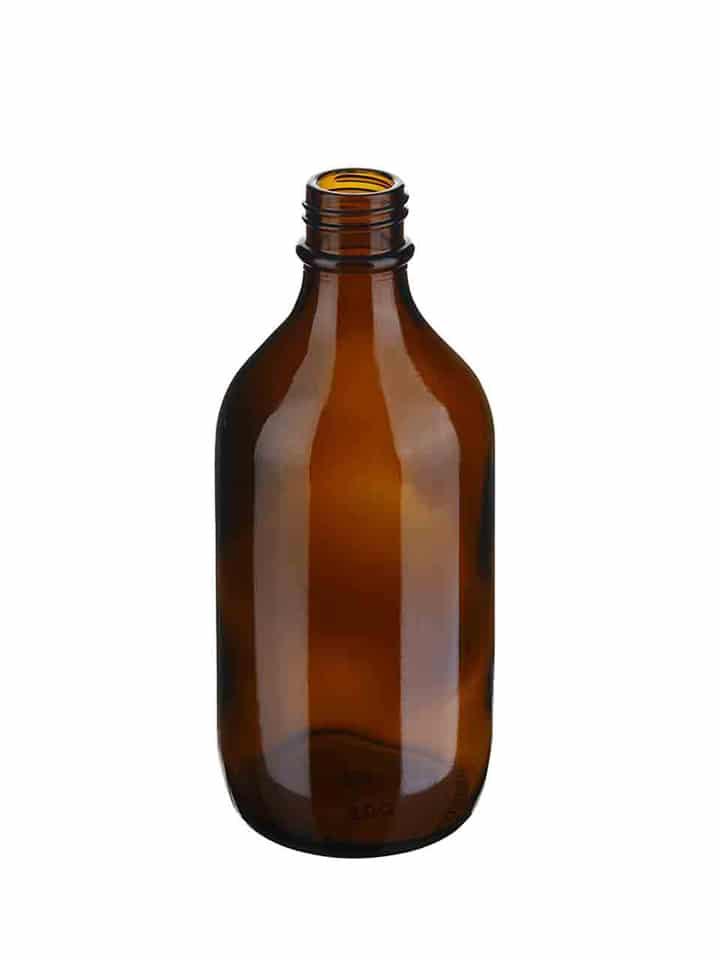 Winchester Flasche 500ml 31/R6 Glas braun