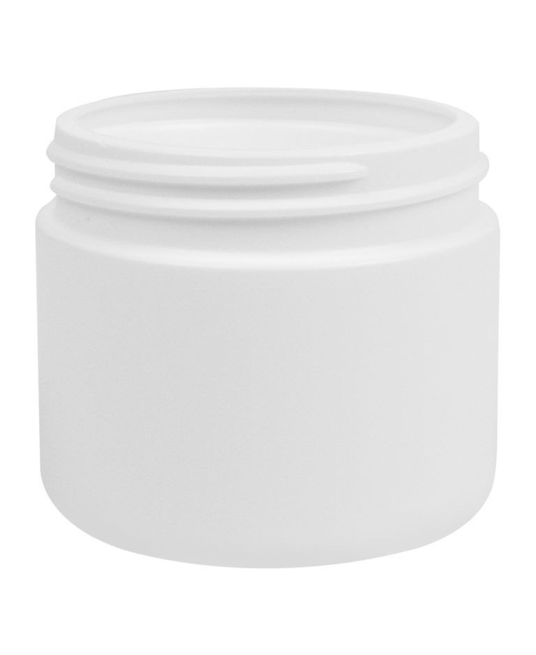 Pot à vis cylindrique 150ml 63CT PEHD blanc
