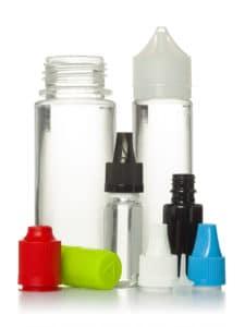 e-liquids bottle