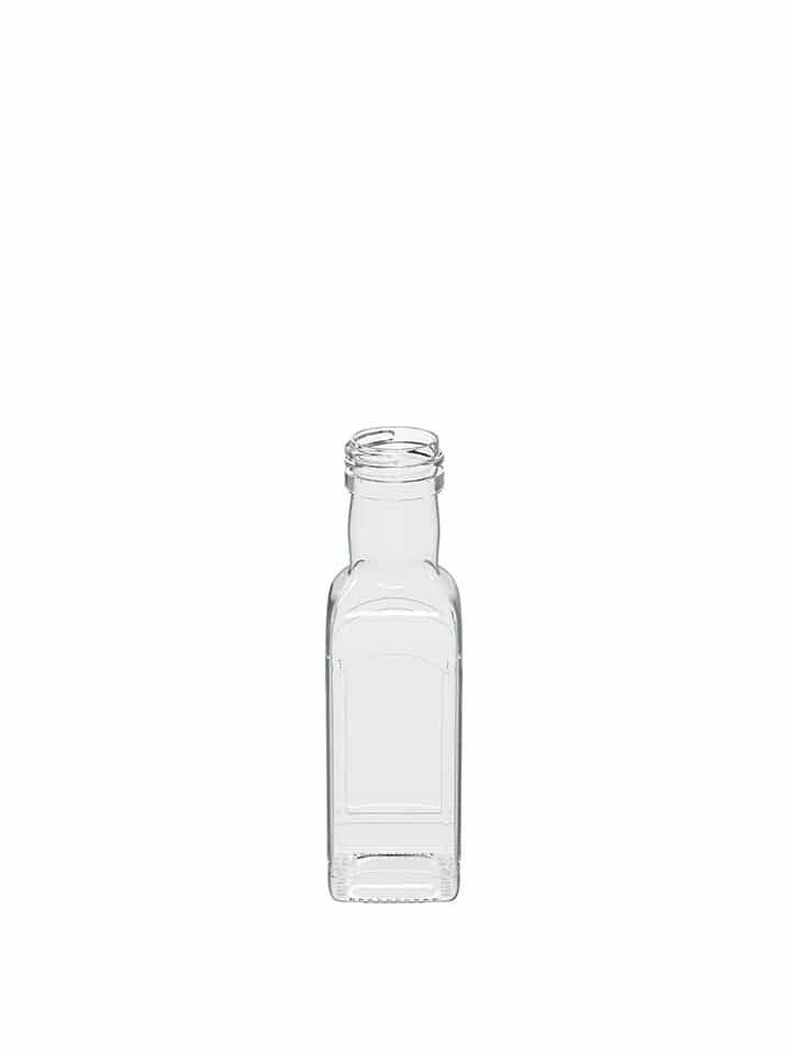 Marasca bottle 125ml white flint