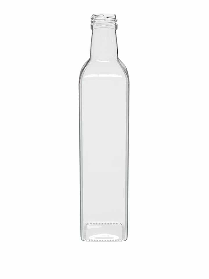 Marasca bottle 500ml white flint