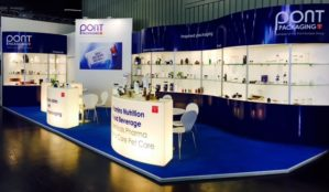 Fachpack exhibition stand Pont Packaging