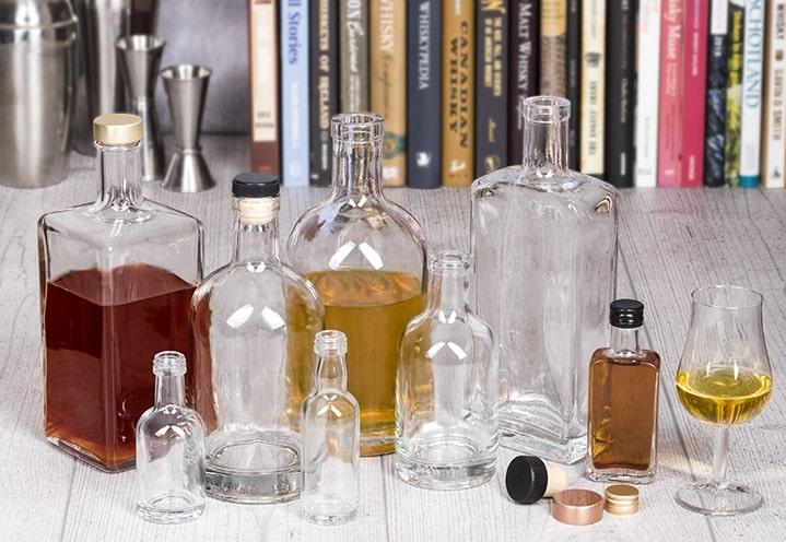 spirit bottle range
