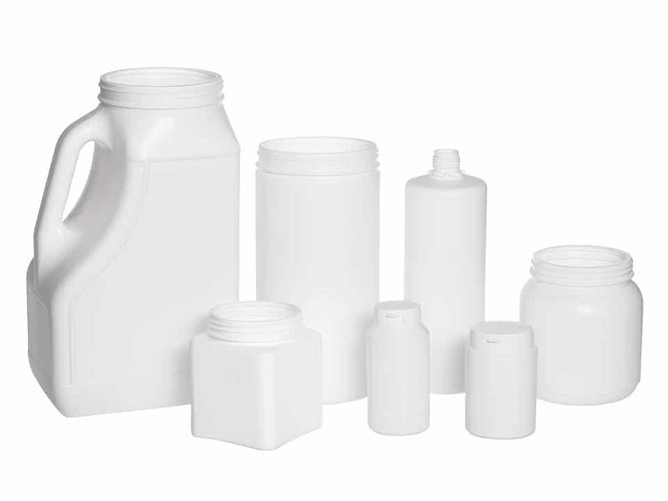 biobased HDPE jars