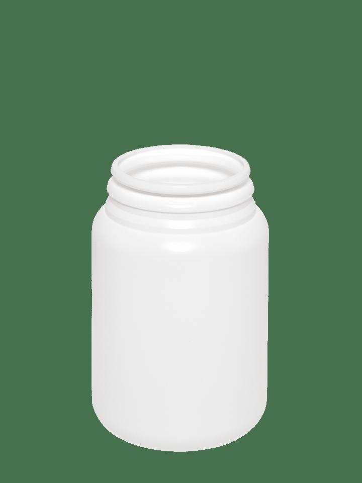Roundpacker 100ml 43HG HDPE