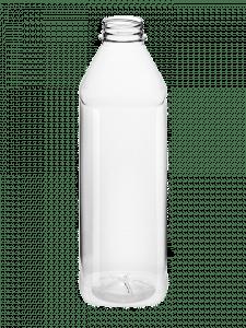 Juice Bottle 1000ml 38CT PET square