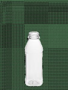 Juice Bottle 500ml 38CT PET square
