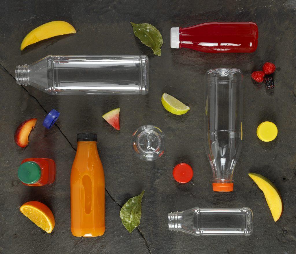PET drinks bottles