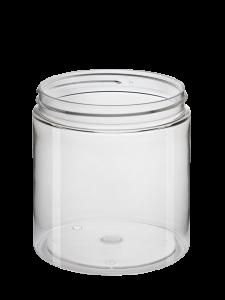 Cylindrical Jar 750ml 100CT PET